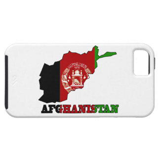 Flagge in der Karte von Afghanistan iPhone 5 Etuis