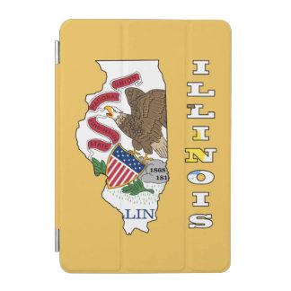 Flagge in der Karte von Illinois iPad Mini Hülle