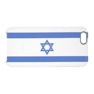 Flagge Israel klaren iPhone Falles Durchsichtige iPhone 6/6S Hülle