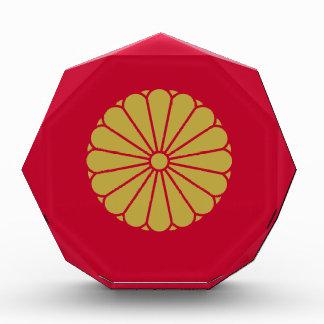 Flagge Japans Sessyo Auszeichnung