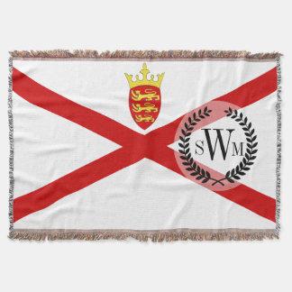 Flagge Jerseys Großbritannien Decke