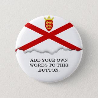 Flagge Jerseys Großbritannien Runder Button 5,7 Cm