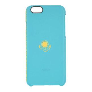 Flagge Kasachstan klaren iPhone Falles Durchsichtige iPhone 6/6S Hülle