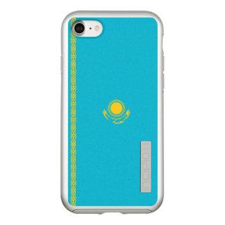 Flagge Kasachstan silbernen iPhone Falles