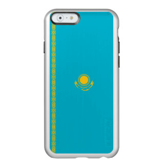 Flagge Kasachstan silbernen iPhone Falles Incipio Feather® Shine iPhone 6 Hülle
