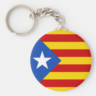Flagge Keychain Kataloniens Estrellada Schlüsselanhänger