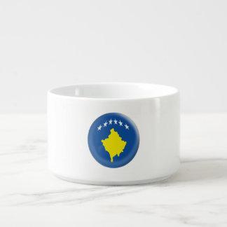 Flagge Kosovos Kosovan Kleine Suppentasse