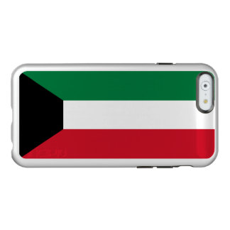 Flagge Kuwait silbernen iPhone Falles Incipio Feather® Shine iPhone 6 Hülle