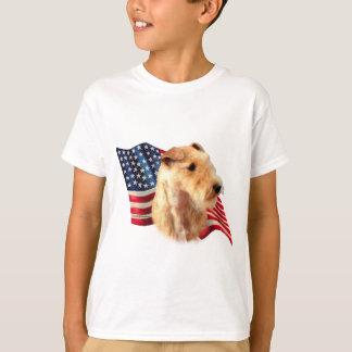 Flagge Lakelands Terrier T-Shirt