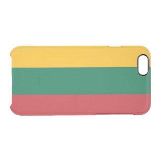 Flagge Litauen klaren iPhone Falles Durchsichtige iPhone 6/6S Hülle