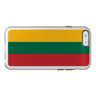 Flagge Litauen silbernen iPhone Falles Incipio Feather® Shine iPhone 6 Hülle