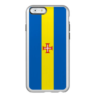 Flagge Madeira silbernen iPhone Falles Incipio Feather® Shine iPhone 6 Hülle