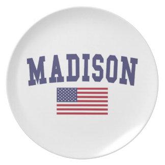 Flagge Madison WI US Teller
