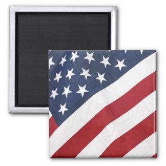 Flagge-Magnet Quadratischer Magnet