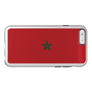Flagge Marokko silbernen iPhone Falles Incipio Feather® Shine iPhone 6 Hülle