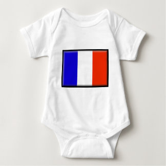 Flagge Mayotten (Frankreich) Baby Strampler