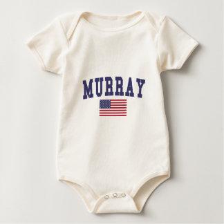 Flagge Murrays US Baby Strampler