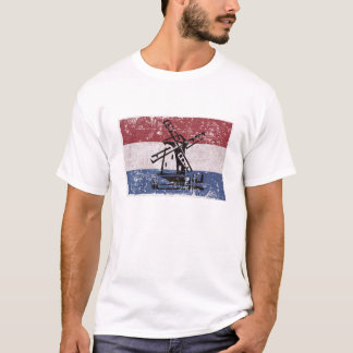 Flagge niederländischen   Vlag Packwagens T-Shirt