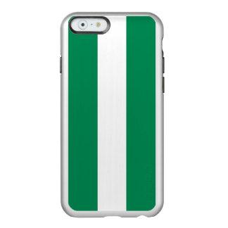 Flagge Nigeria silbernen iPhone Falles Incipio Feather® Shine iPhone 6 Hülle