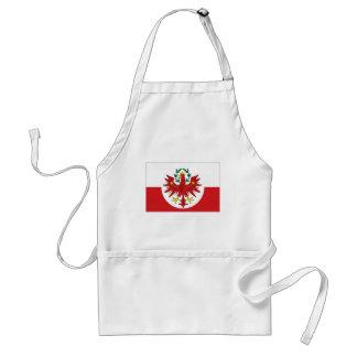 Flagge Österreichs Tirol Schürze