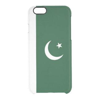 Flagge Pakistan klaren iPhone Falles Durchsichtige iPhone 6/6S Hülle