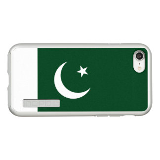 Flagge Pakistan silbernen iPhone Falles Incipio DualPro Shine iPhone 8/7 Hülle