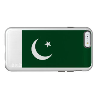Flagge Pakistan silbernen iPhone Falles Incipio Feather® Shine iPhone 6 Hülle