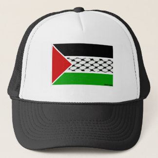 Flagge Palästinas Keffiyeh Truckerkappe