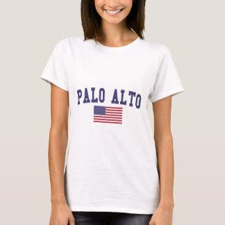Flagge Palo Altos US T-Shirt