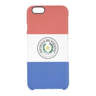 Flagge Paraguay klaren iPhone Falles Durchsichtige iPhone 6/6S Hülle