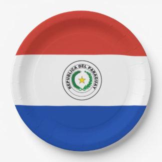 Flagge: Paraguay Pappteller