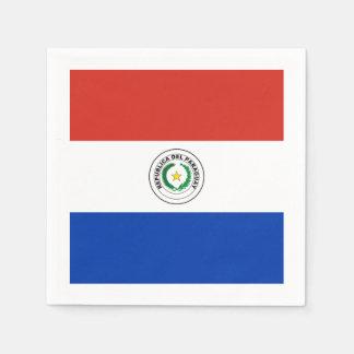 Flagge: Paraguay Serviette