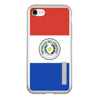 Flagge Paraguay silbernen iPhone Falles Incipio DualPro Shine iPhone 8/7 Hülle