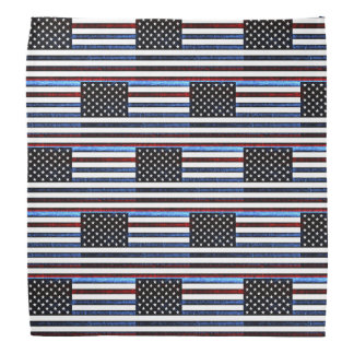 Flagge-patriotische rote weiße blaue Bandanna Halstuch
