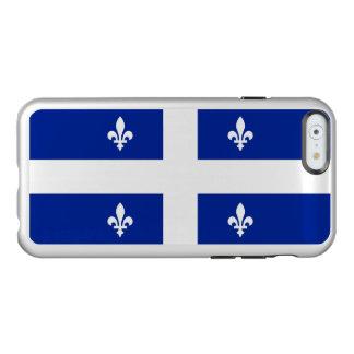 Flagge Quebec silbernen iPhone Falles Incipio Feather® Shine iPhone 6 Hülle