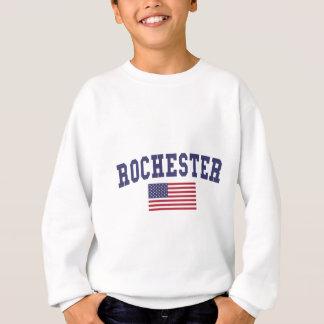 Flagge Rochesters NY US Sweatshirt