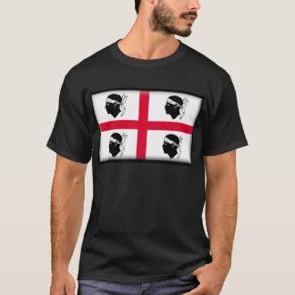 Flagge Sardiniens (Italien) T-Shirt