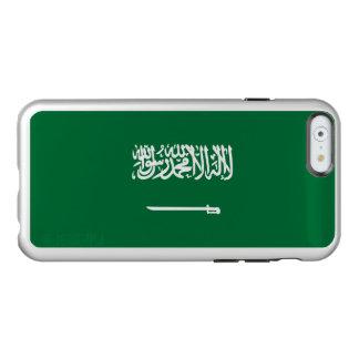 Flagge Saudi-Arabien silbernen iPhone Falles Incipio Feather® Shine iPhone 6 Hülle