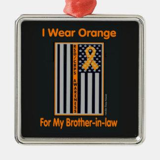 Flagge/Schwager… RSD/CRPS Quadratisches Silberfarbenes Ornament