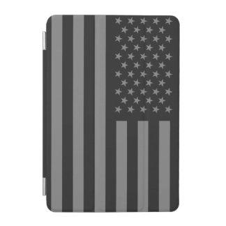 Flagge-schwarzes Grau iPad Mini Hülle