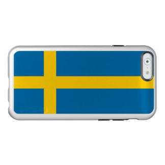 Flagge Schweden silbernen iPhone Falles Incipio Feather® Shine iPhone 6 Hülle