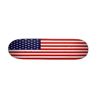 Flagge-Skateboard Mini Personalisiertes Skateboard