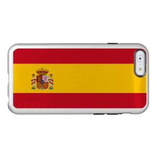 Flagge Spanien silbernen iPhone Falles Incipio Feather® Shine iPhone 6 Hülle