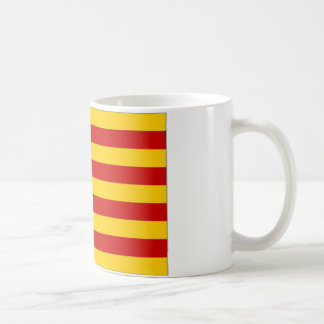Flagge Spaniens Valencia Kaffeetasse