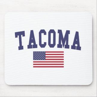 Flagge Tacomas US Mauspad