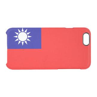 Flagge Taiwan (ROC) klaren iPhone Falles Durchsichtige iPhone 6/6S Hülle