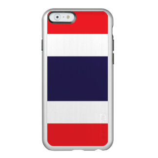 Flagge Thailand silbernen iPhone Falles Incipio Feather® Shine iPhone 6 Hülle