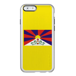 Flagge Tibet silbernen iPhone Falles Incipio Feather® Shine iPhone 6 Hülle