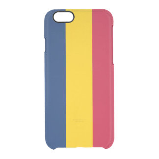Flagge Tschad klaren iPhone Falles Durchsichtige iPhone 6/6S Hülle
