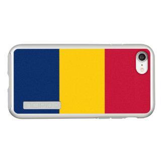 Flagge Tschad silbernen iPhone Falles Incipio DualPro Shine iPhone 8/7 Hülle